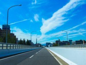 ドライブ風景