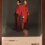 DAM新曲目次本表紙アーティスト「KEN☆Tackey」ケンタッキー(DAMexpress2018年8月新曲本)