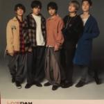 今月のDAM新曲目次本表紙アーティストは「SexyZone」(DAM2018年12月新曲本)カラオケTOP10